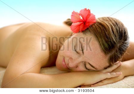 Beauty And Spa Woman