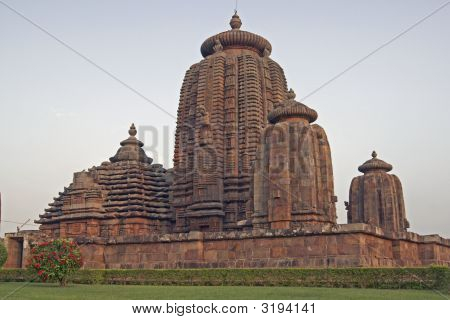 Walled Hindu Temple
