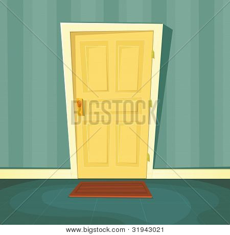 Cartoon Front Door
