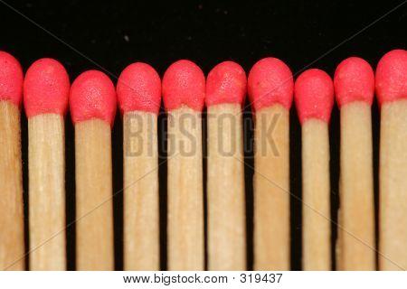 Line Of Matchsticks