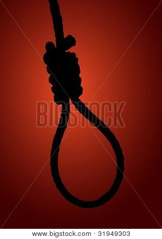 illustration of a hangman noose