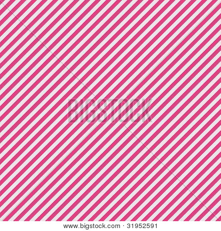 White & Pink Diagonal Stripe Paper