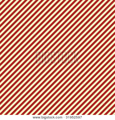 White & Red Diagonal Stripe Paper