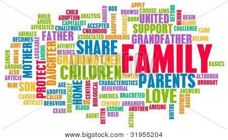 Family as a Important Support Network for Love
