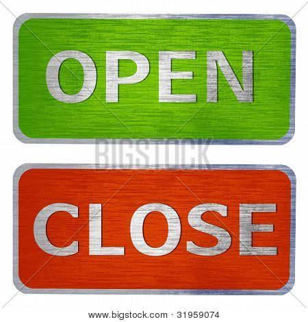 Open And Close  Signs