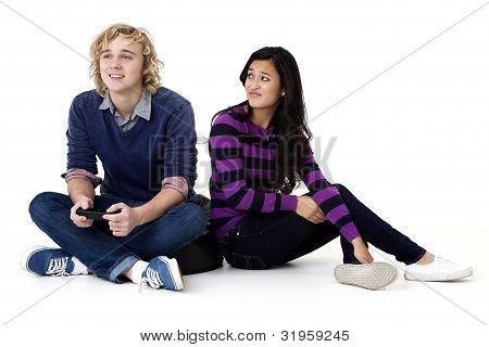 video gamer's girl