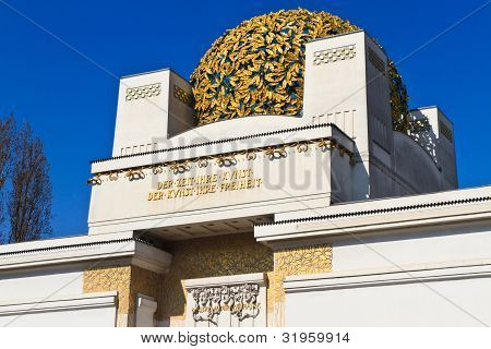 Prédio de Secession, Viena, Áustria