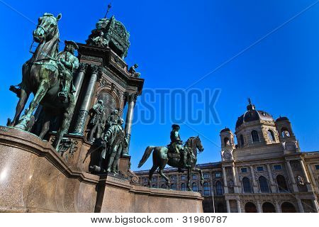 Vienna - Empress Maria Theresia Monument