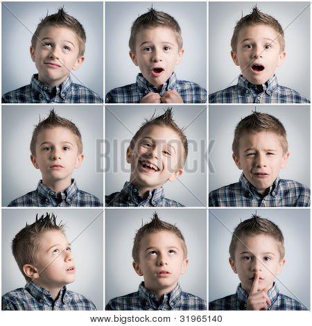 Boy Expressions