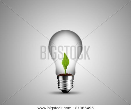 Conceito de lâmpada
