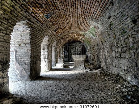 The roman baths of Varna