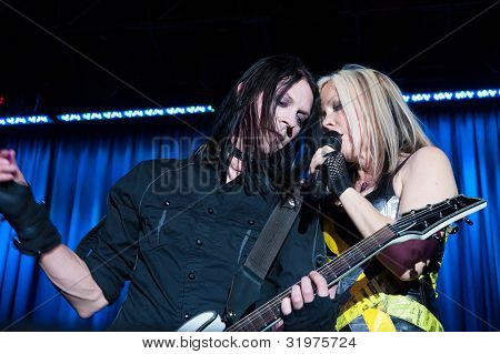 Terri Nunn And Carlton Bost