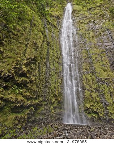 Waimoku Falls In Maui Hawaii