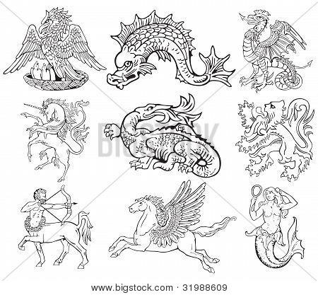 Heraldic Monsters Vol