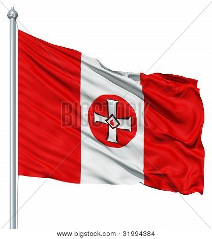 Waving Flag of KKK