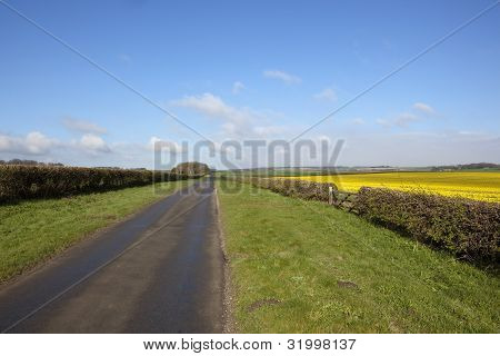 April On The Yorkshire Wolds
