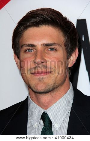 LOS ANGELES - JAN 29:  Chris Lowell arrives at the