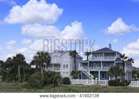 Houses in Cocoa Beach, Florida