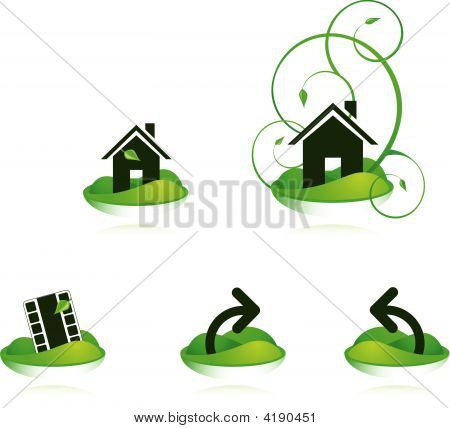 Green House Icons