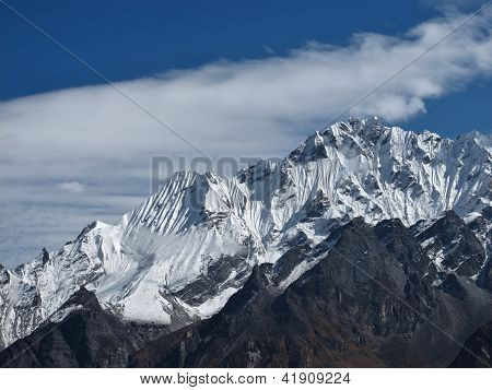 View From Kyanjing, Nepal