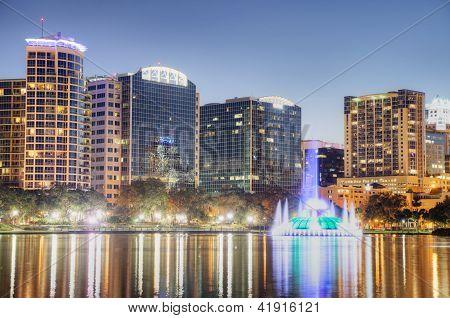 Orlando at Night