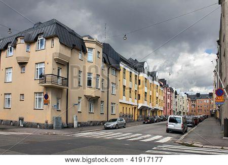Helsínquia, Huvilakatu Street