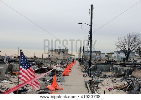 Hurricane Sandy - three months later