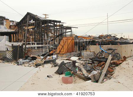 Superstorm Sandy - three months later