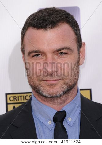 LOS ANGELES - JAN 10:  Liev Schreiber arrives to the