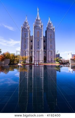 Templo Mormón en Salt Lake City, Utah