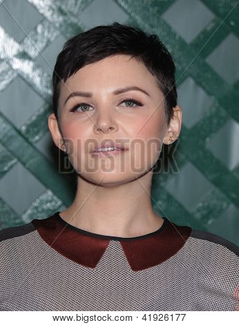 LOS ANGELES - APR 13:  GINNIFER GOODWIN arriving to