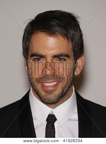 LOS ANGELES - NOV 5:  ELI ROTH arriving to LACMA hosts Art + Film Gala 2011  on November 5, 2011 in Los Angeles, CA