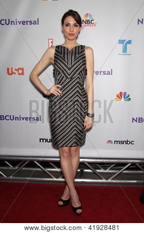 LOS ANGELES - AUG 02:  WHITNEY CUMMINGS arriving to Summer 2011 TCA Party - NBC  on August 02, 2011 in Beverly Hills, CA