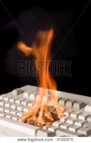 Keyboard On Fire