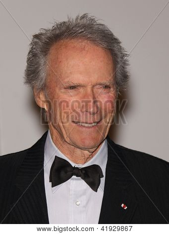 LOS ANGELES - NOV 5:  CLINT EASTWOOD arriving to LACMA hosts Art + Film Gala 2011  on November 5, 2011 in Los Angeles, CA