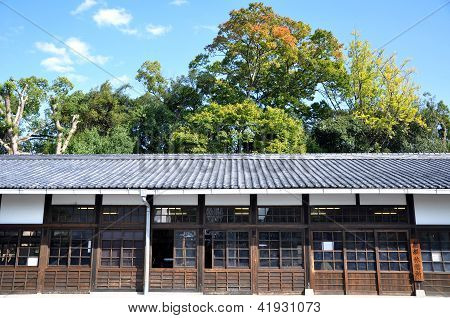 Kyoto, Japan - Oct 27: Nijo Castle , Is A Flatland Castle Located In Kyoto, Japan.