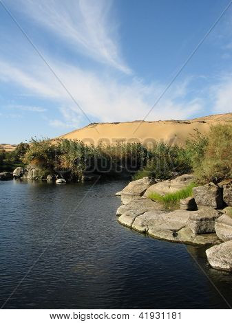 River Nile And The Dunes