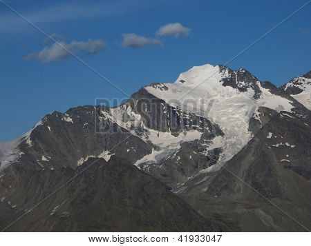 High Mountain Named Fletschhorn