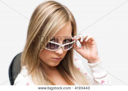 Girl Bespectacled