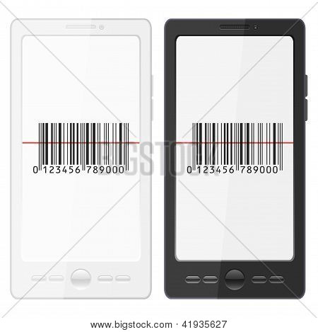 Mobile Phone And Barcode