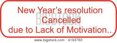 Resolutions Cancelled