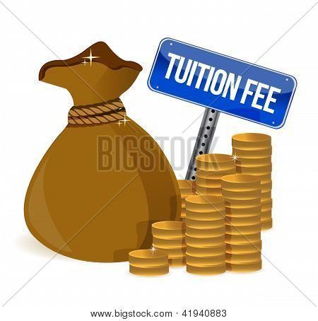 Bag With Tuition Fee