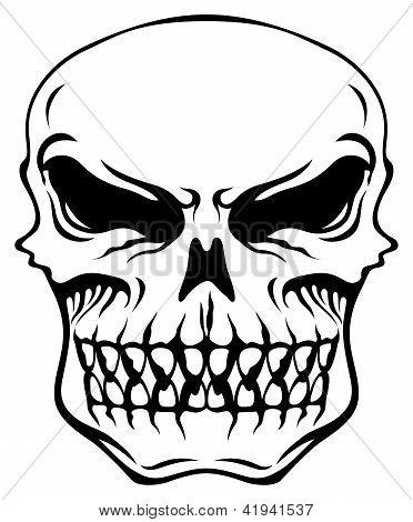Evil Looking Skull