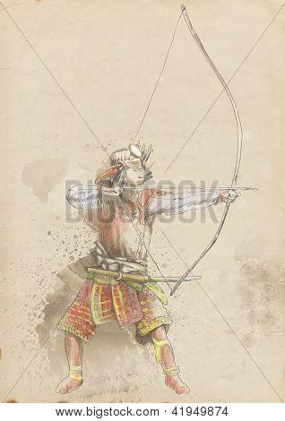 samurai, kyudo