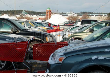 Full Parking Lot