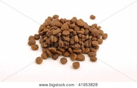 Dry Cat Or Dog Food In Kibble Form