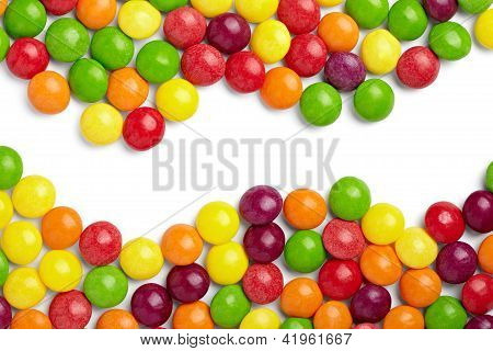 Colorful Candy Bonbon Sweet