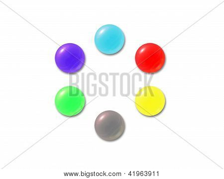 Color Crystal Balls