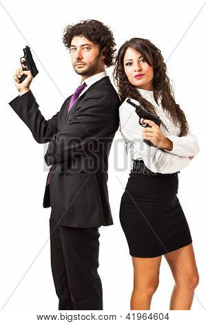 Secret Agent And His Woman
