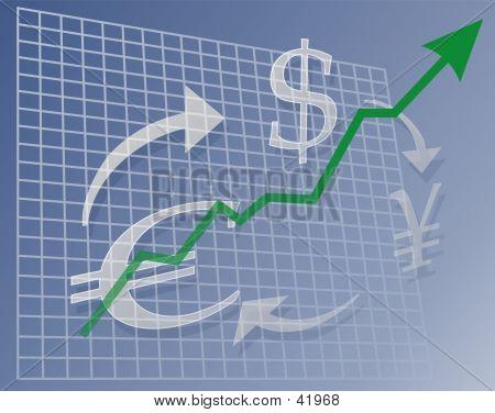 Diagramm Währung bis